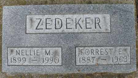 ZEDEKER, NELLIE M. - Montgomery County, Ohio | NELLIE M. ZEDEKER - Ohio Gravestone Photos