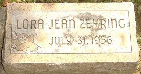 ZEHRING, LORA JEAN - Montgomery County, Ohio | LORA JEAN ZEHRING - Ohio Gravestone Photos