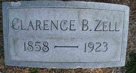 ZELL, CLARENCE B. - Montgomery County, Ohio | CLARENCE B. ZELL - Ohio Gravestone Photos