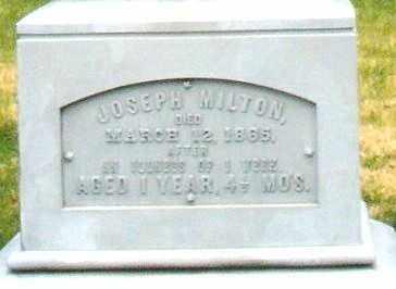ZELLER, JOSEPH MILTON - Montgomery County, Ohio | JOSEPH MILTON ZELLER - Ohio Gravestone Photos