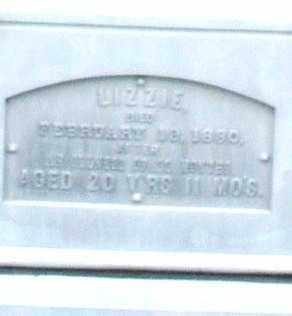 ZELLER, LIZZIE - Montgomery County, Ohio | LIZZIE ZELLER - Ohio Gravestone Photos
