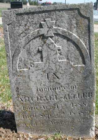 ZELLER, MICHAEL - Montgomery County, Ohio   MICHAEL ZELLER - Ohio Gravestone Photos