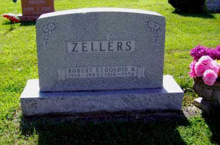 ZELLERS, ROBERT E - Montgomery County, Ohio | ROBERT E ZELLERS - Ohio Gravestone Photos