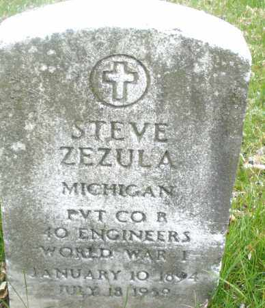 ZEZULA, STEVE - Montgomery County, Ohio | STEVE ZEZULA - Ohio Gravestone Photos