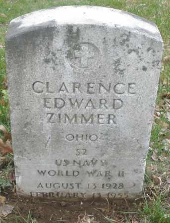 ZIMMER, CLARENCE EDWARD - Montgomery County, Ohio | CLARENCE EDWARD ZIMMER - Ohio Gravestone Photos