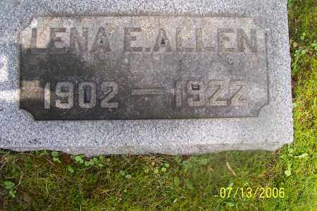 ALLEN, LENA EVA - Morgan County, Ohio | LENA EVA ALLEN - Ohio Gravestone Photos