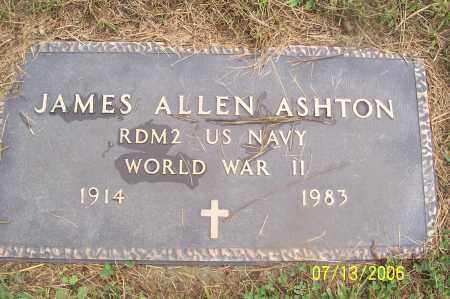 ASHTON, JAMES - Morgan County, Ohio | JAMES ASHTON - Ohio Gravestone Photos