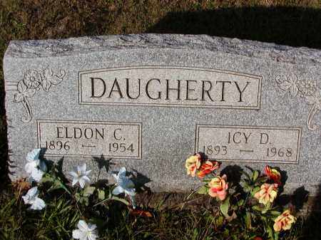 CARPENTER DAUGHERTY, ICY D. - Morgan County, Ohio | ICY D. CARPENTER DAUGHERTY - Ohio Gravestone Photos
