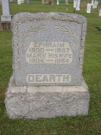 DEARTH, MARY (POLLY) - Morgan County, Ohio | MARY (POLLY) DEARTH - Ohio Gravestone Photos