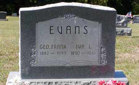 "EVANS, IVA L. (AKA ""IVY"") - Morgan County, Ohio 