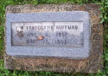 VANDEGRIFF HUFFMAN, IDA - Morgan County, Ohio | IDA VANDEGRIFF HUFFMAN - Ohio Gravestone Photos