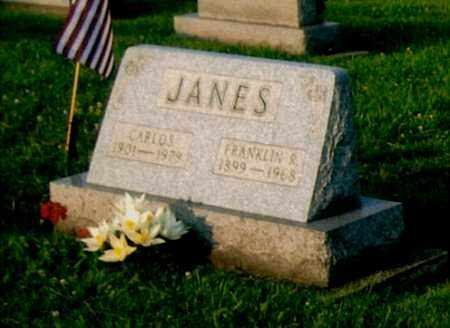 JANES, CARLOS - Morgan County, Ohio | CARLOS JANES - Ohio Gravestone Photos
