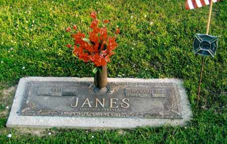 JANES, HOWARD D. - Morgan County, Ohio | HOWARD D. JANES - Ohio Gravestone Photos