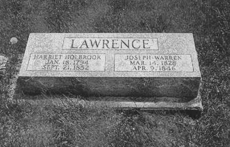 HOLBROOK LAWRENCE, HARRIET - Morgan County, Ohio | HARRIET HOLBROOK LAWRENCE - Ohio Gravestone Photos