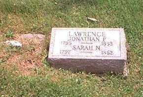 LAWRENCE, SARAH HOOPER - Morgan County, Ohio | SARAH HOOPER LAWRENCE - Ohio Gravestone Photos