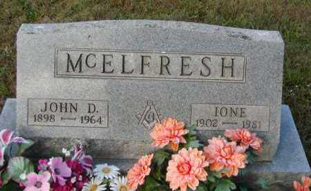 MCELFRESH, IONE - Morgan County, Ohio | IONE MCELFRESH - Ohio Gravestone Photos