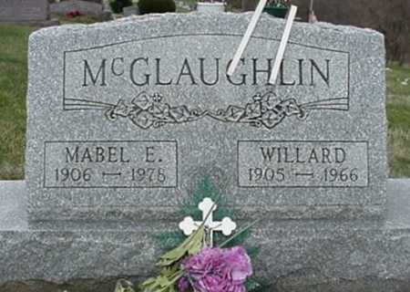 MCGLAUGHLIN, WILLARD - Morgan County, Ohio | WILLARD MCGLAUGHLIN - Ohio Gravestone Photos