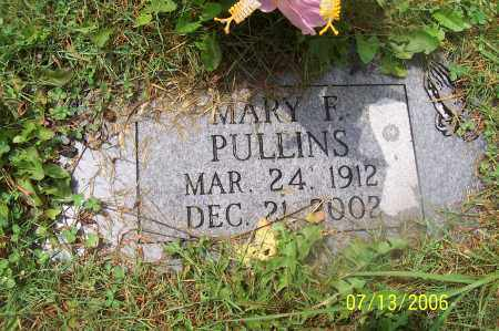 PULLINS, MARY - Morgan County, Ohio | MARY PULLINS - Ohio Gravestone Photos