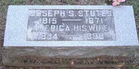 TIGNER STUTES, AMERICA - Morgan County, Ohio | AMERICA TIGNER STUTES - Ohio Gravestone Photos