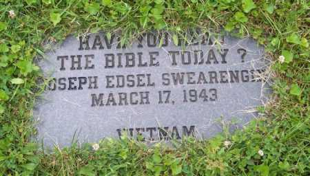 SWEARENGIN, JOSEPH EDSEL - Morgan County, Ohio | JOSEPH EDSEL SWEARENGIN - Ohio Gravestone Photos