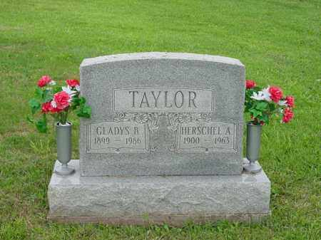 TAYLOR, HERSCHEL AQUARIUS - Morgan County, Ohio | HERSCHEL AQUARIUS TAYLOR - Ohio Gravestone Photos
