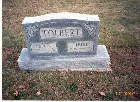 TOLBERT, ELBERT - Morgan County, Ohio | ELBERT TOLBERT - Ohio Gravestone Photos