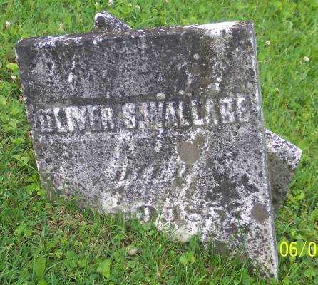WALLACE, OLIVER S. - Morgan County, Ohio | OLIVER S. WALLACE - Ohio Gravestone Photos