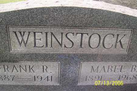 ALLEN WEINSTOCK, MABEL B - Morgan County, Ohio | MABEL B ALLEN WEINSTOCK - Ohio Gravestone Photos