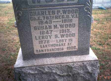 WOOD, LEROY S. - Morgan County, Ohio | LEROY S. WOOD - Ohio Gravestone Photos