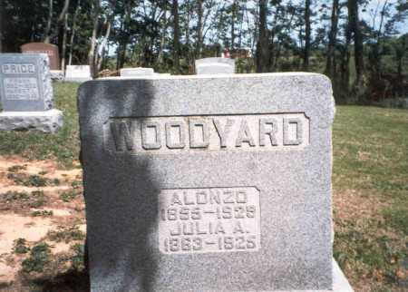WOODYARD, ALONZO - Morgan County, Ohio | ALONZO WOODYARD - Ohio Gravestone Photos