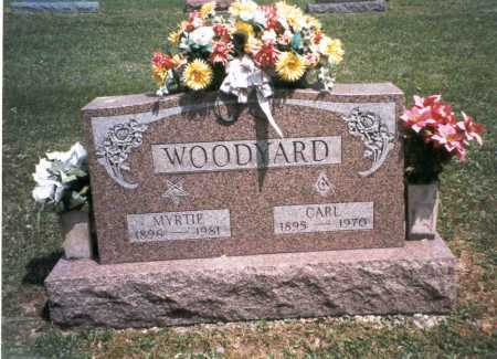 WOODYARD, MYRTIE - Morgan County, Ohio | MYRTIE WOODYARD - Ohio Gravestone Photos