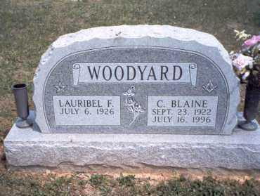 WOODYARD, C. BLAINE - Morgan County, Ohio | C. BLAINE WOODYARD - Ohio Gravestone Photos