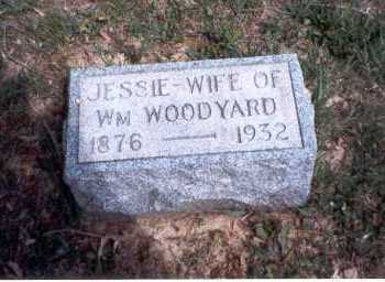 WATSON WOODYARD, JESSIE - Morgan County, Ohio | JESSIE WATSON WOODYARD - Ohio Gravestone Photos