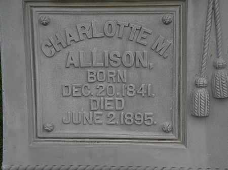 ALLISON, CHARLOTTE M. - Morrow County, Ohio | CHARLOTTE M. ALLISON - Ohio Gravestone Photos