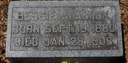 AMICK, BESSIE A. - Morrow County, Ohio | BESSIE A. AMICK - Ohio Gravestone Photos
