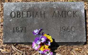 AMICK, OBEDIAH - Morrow County, Ohio | OBEDIAH AMICK - Ohio Gravestone Photos