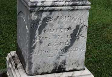 ASHWILL, JAMES - Morrow County, Ohio | JAMES ASHWILL - Ohio Gravestone Photos