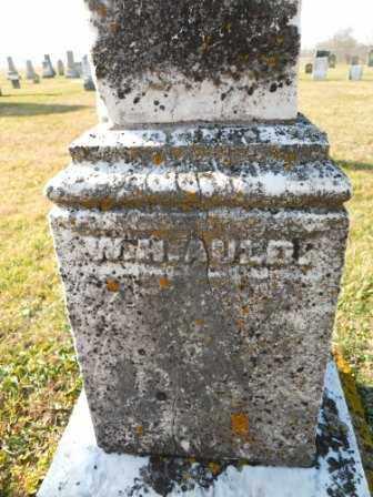 AULD, W.H. - Morrow County, Ohio | W.H. AULD - Ohio Gravestone Photos