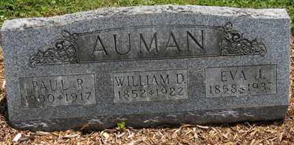 AUMAN, EVA J. - Morrow County, Ohio | EVA J. AUMAN - Ohio Gravestone Photos