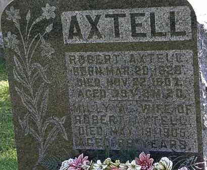 AXTELL, MILLY A. - Morrow County, Ohio | MILLY A. AXTELL - Ohio Gravestone Photos