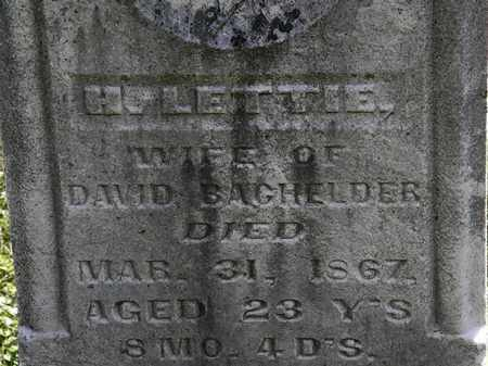 BAGHELDER, DAVID - Morrow County, Ohio | DAVID BAGHELDER - Ohio Gravestone Photos