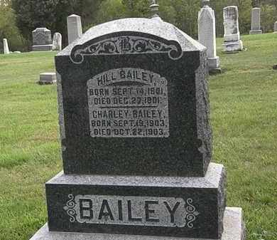 BAILEY, HILL - Morrow County, Ohio | HILL BAILEY - Ohio Gravestone Photos