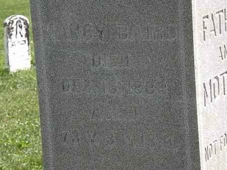 BAIRD, NANCY - Morrow County, Ohio | NANCY BAIRD - Ohio Gravestone Photos