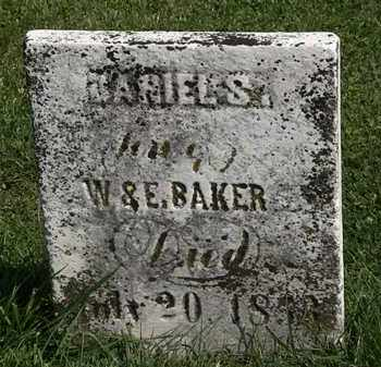 BAKER, DARIEL S. - Morrow County, Ohio | DARIEL S. BAKER - Ohio Gravestone Photos