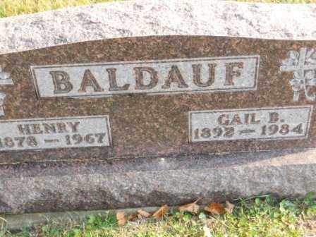 BALDAUF, HENRY - Morrow County, Ohio | HENRY BALDAUF - Ohio Gravestone Photos