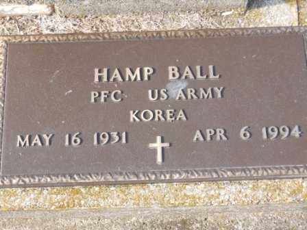 BALL, HAMP - Morrow County, Ohio | HAMP BALL - Ohio Gravestone Photos