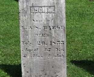 BARGE, HUGH M. - Morrow County, Ohio   HUGH M. BARGE - Ohio Gravestone Photos