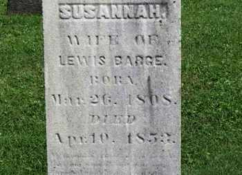 BARGE, SUSANNAH - Morrow County, Ohio | SUSANNAH BARGE - Ohio Gravestone Photos