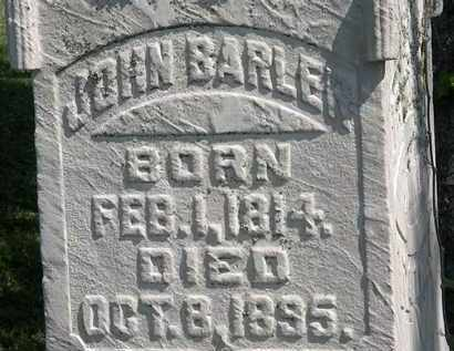 BARLER, JOHN - Morrow County, Ohio | JOHN BARLER - Ohio Gravestone Photos