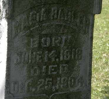 BARLER, MARIA - Morrow County, Ohio | MARIA BARLER - Ohio Gravestone Photos